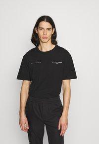 Criminal Damage - DNA TEE - T-shirt imprimé - black - 0