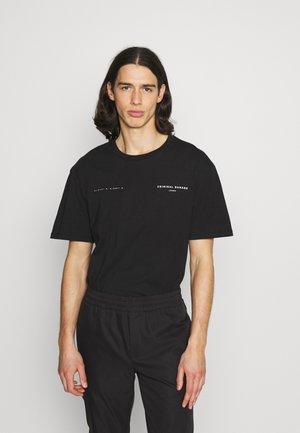 DNA TEE - T-shirt imprimé - black