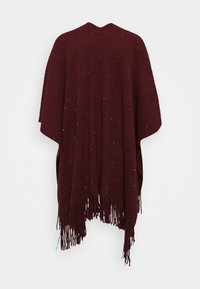 Molly Bracken - LADIES PONCHO - Cape - dark red - 1