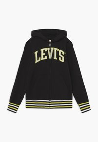 Levi's® - STRIPED FULL ZIP HOOD - Sweatjacke - black - 0