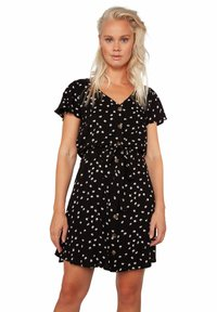 Protest - UNNA - Shirt dress - true black - 0