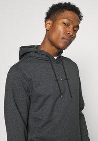 Tommy Jeans - GEL STRAIGHT LOGO HOODIE - Sweatshirt - black - 3