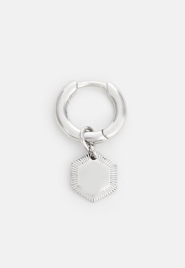 RAVELLO HOOP - Earrings - silver-coloured