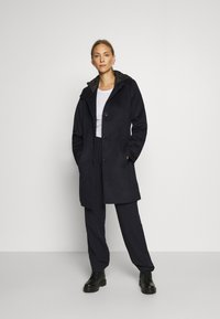 Esprit Collection - HOOD - Klasyczny płaszcz - navy - 0