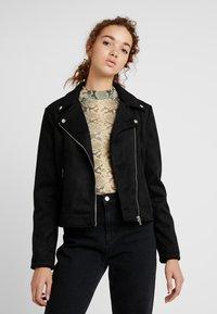 Even&Odd - Faux leather jacket - black - 0