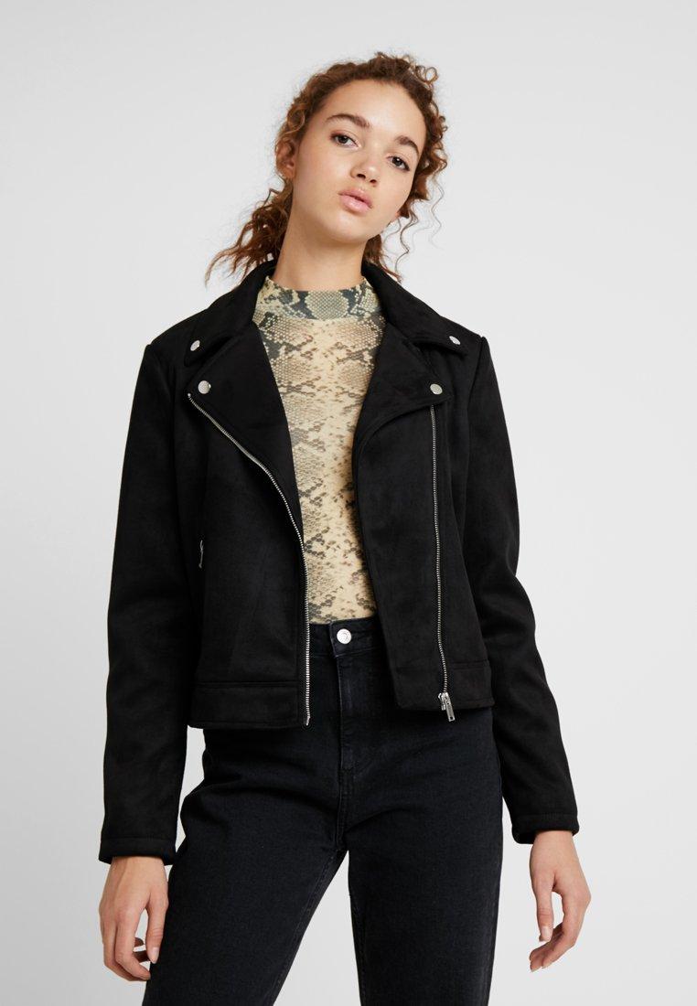 Even&Odd - Faux leather jacket - black
