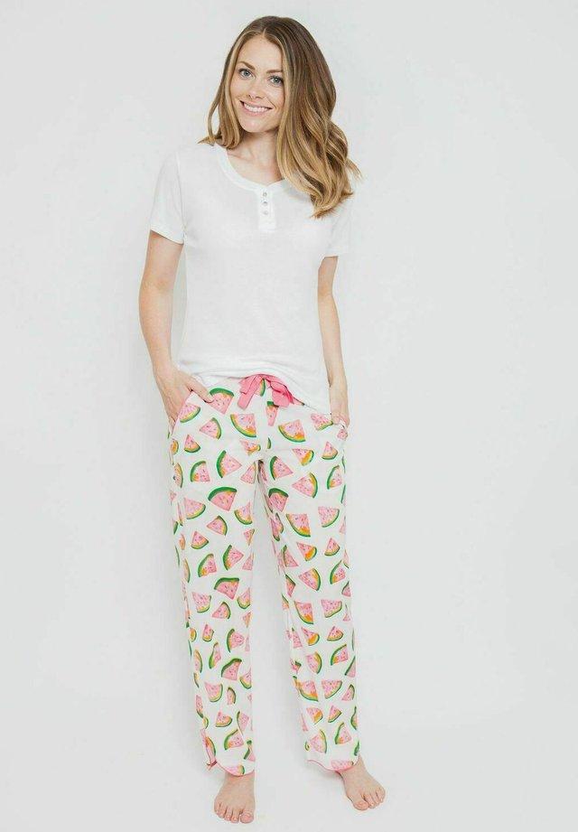SASHA - Pyjamapaita - white