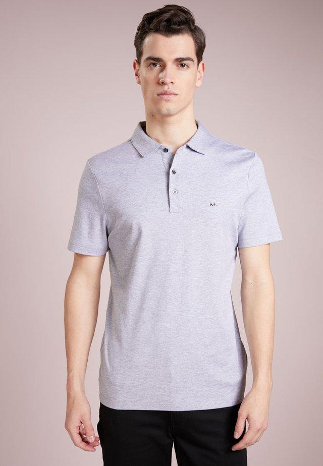 Polo shirt - heather grey