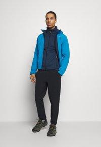 CMP - Fleece jacket - blue ink/yellow fluo - 1