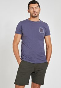 Shiwi - LOBSTER - Print T-shirt - dusty anthracite grey - 2