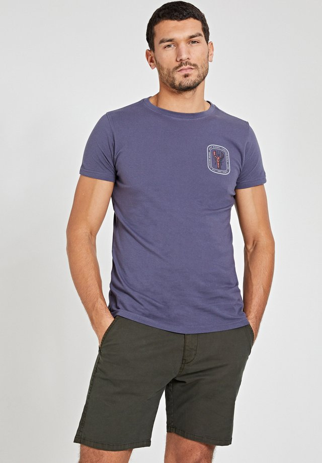 LOBSTER - T-shirt imprimé - dusty anthracite grey