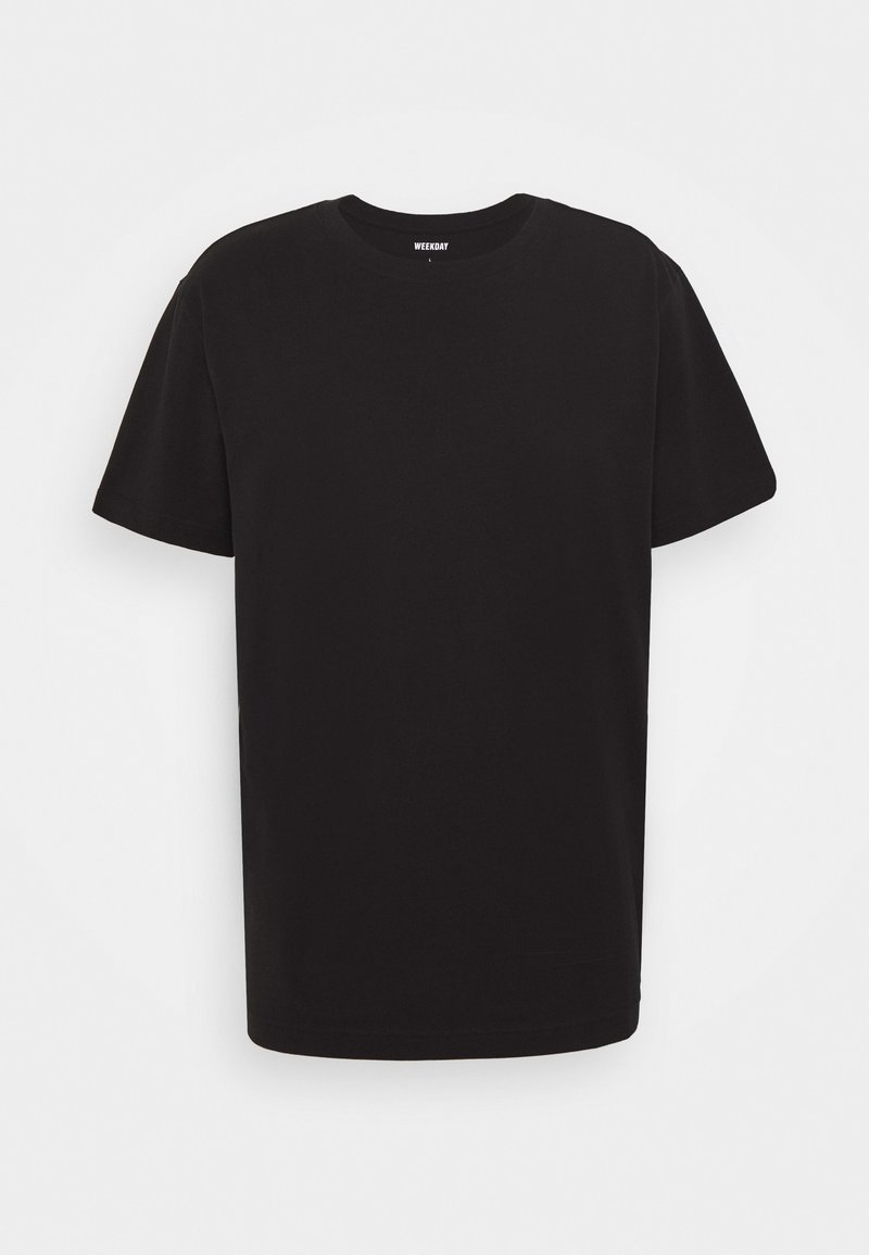 Weekday RELAXED - T-Shirt basic - black/schwarz 2TxyAO