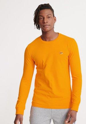 LONG SLEEVED - Long sleeved top - vivid marigold