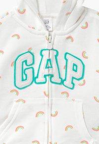 GAP - TODDLER GIRL NOVELTY - Mikina na zip - off-white - 3
