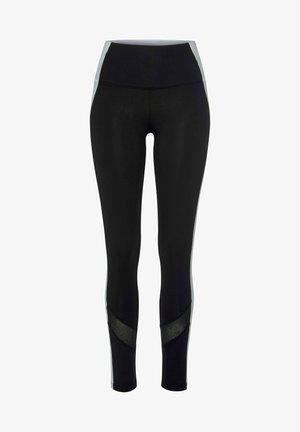 Leggings - schwarz-weiß