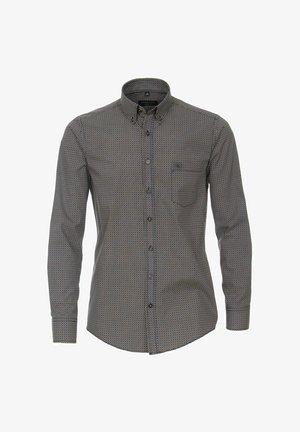 CASUAL FIT - FREIZEIT MIT BUTTON-DOWN - Shirt - gray