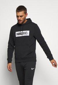 Nike Performance - FC HOODIE - Felpa con cappuccio - black - 0