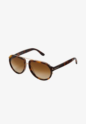 Sunglasses - havana/gradient brown