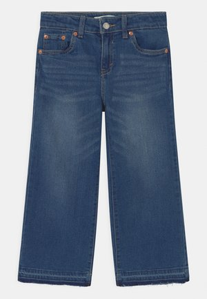 CROPPED WIDE LEG - Jeans baggy - blue denim