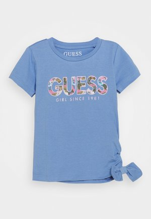TODDLER - T-shirt con stampa - confidential blue