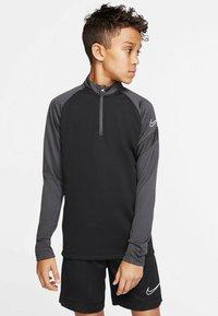 Nike Performance - Long sleeved top - schwarz/grau (718) - 0