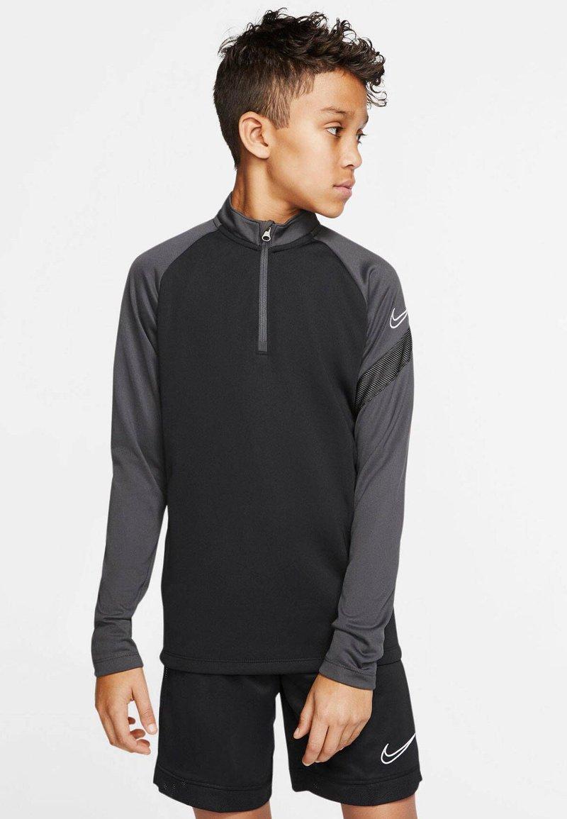 Nike Performance - Long sleeved top - schwarz/grau (718)