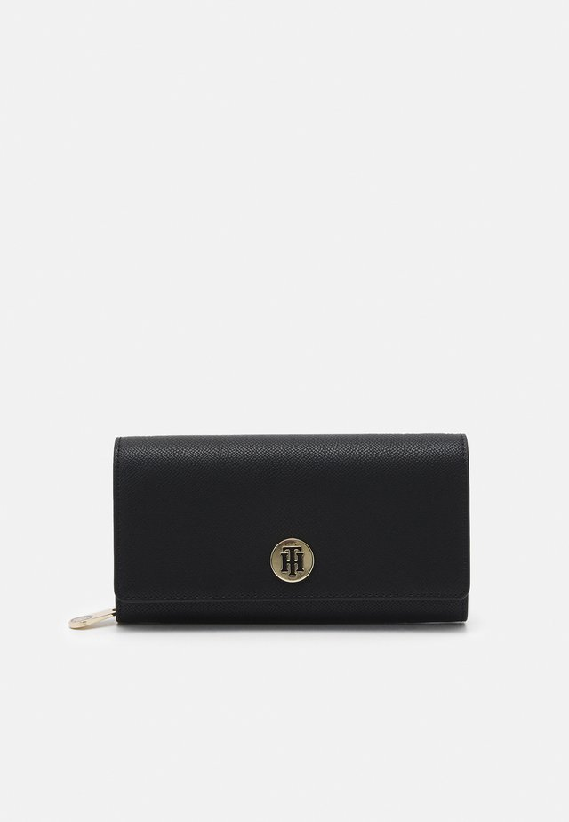 HONEY LARGE EWWITH FLAP - Wallet - black