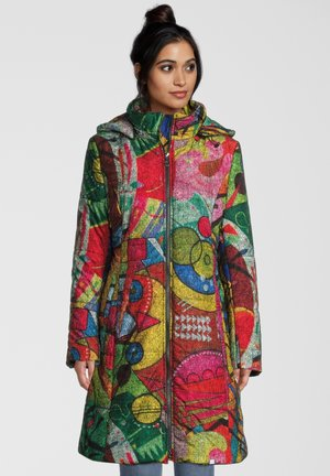 Winter coat - multicolour