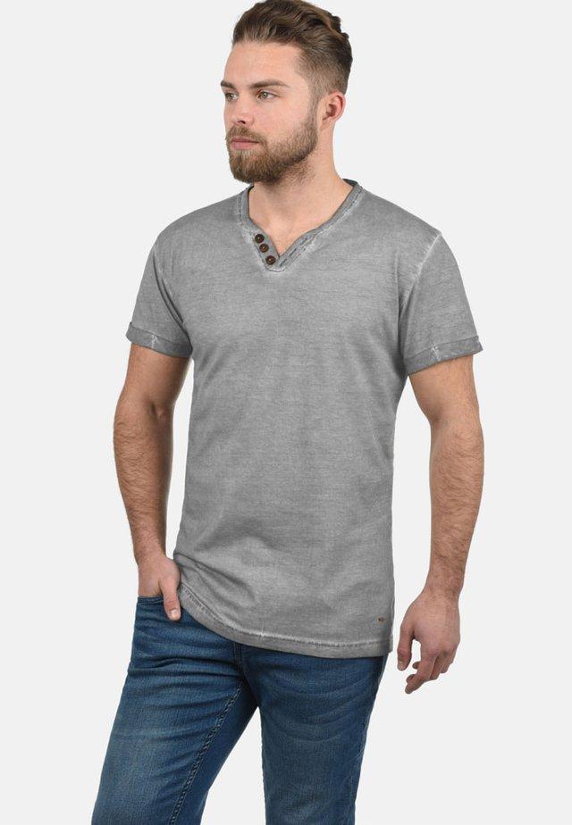 TINO - Basic T-shirt - mid grey