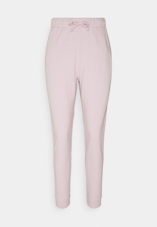 LOUNGE JOGGER - Tracksuit bottoms - lilac