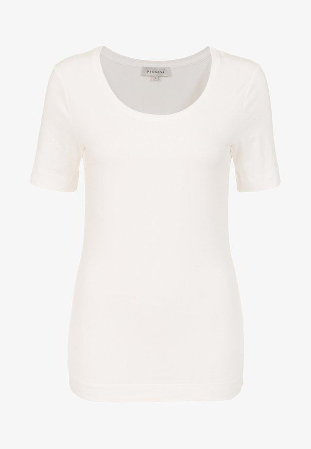 SYLVANA - Basic T-shirt - white