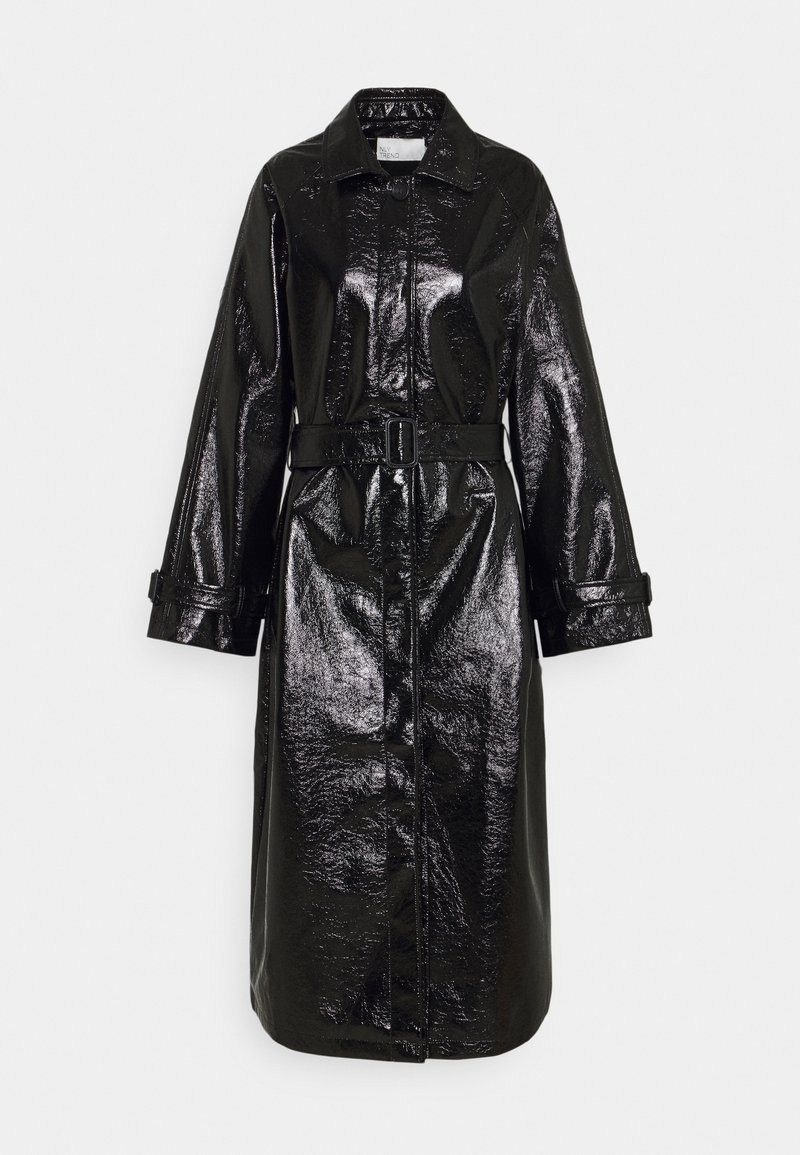 Nly by Nelly - BUTTON UP COAT - Trenčkot - black