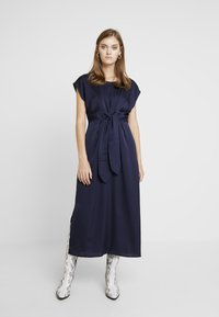 Love Copenhagen - LORALC DRESS - Maxi dress - captain navy - 0