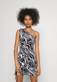 Juicy Couture - ELLEN PRINTED DRESS - Day dress - black - 0