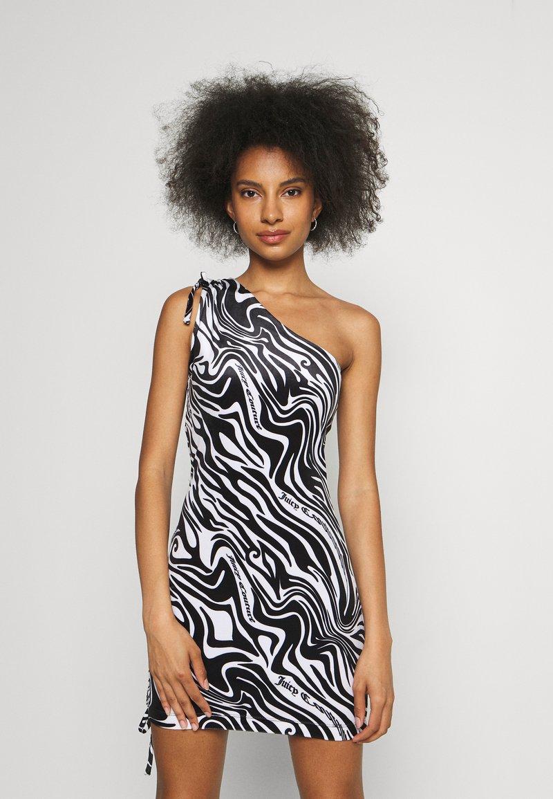 Juicy Couture - ELLEN PRINTED DRESS - Day dress - black