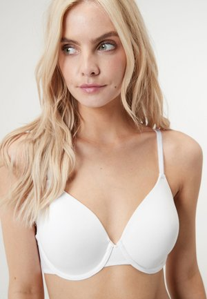 HOLLY LIGHT PAD FULL CUP COTTON BLEND - Underwired bra - black