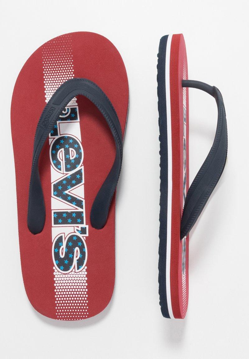 Levi's® - VIRGINIA - Teenslippers - red