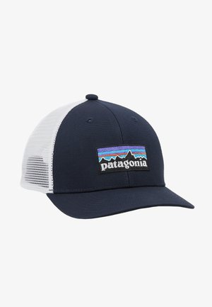 TRUCKER HAT - Cap - navy blue/white