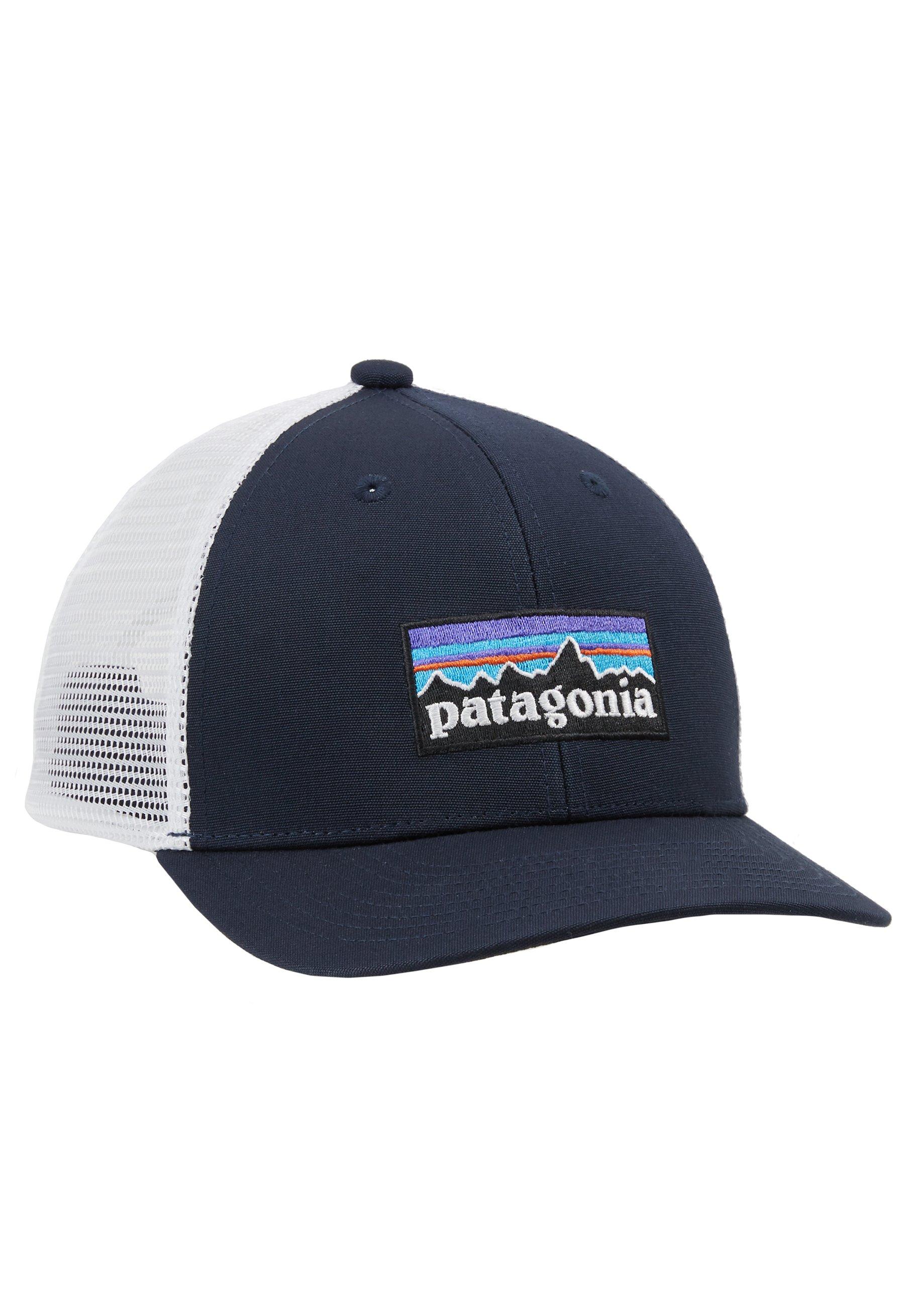 Taille Unique Patagonia P-6 Logo Trucker Hat Casquette Mixte Pigeon-Bleu