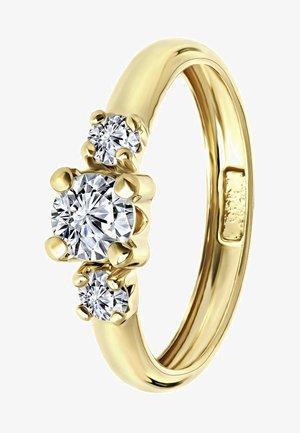 14 CT GOLD - Ring - geel
