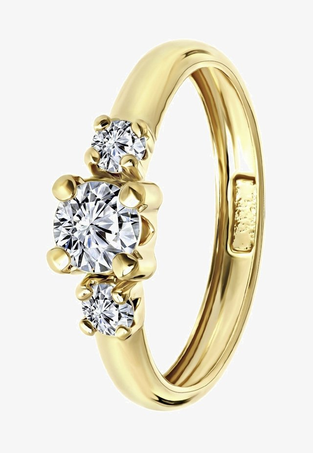 14 CT GOLD - Ring - geel