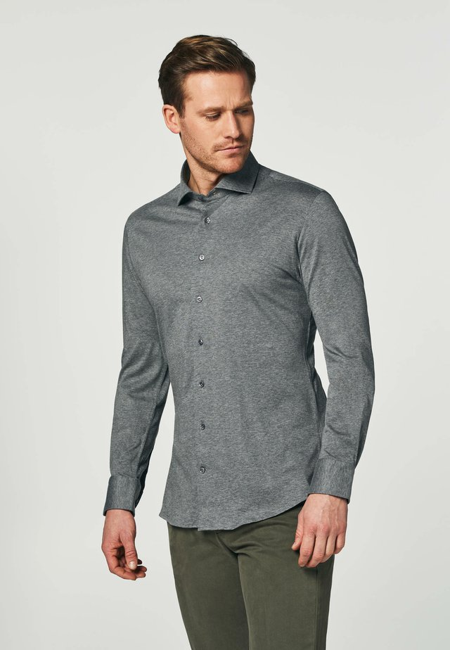 SLIM FIT - Overhemd - grey
