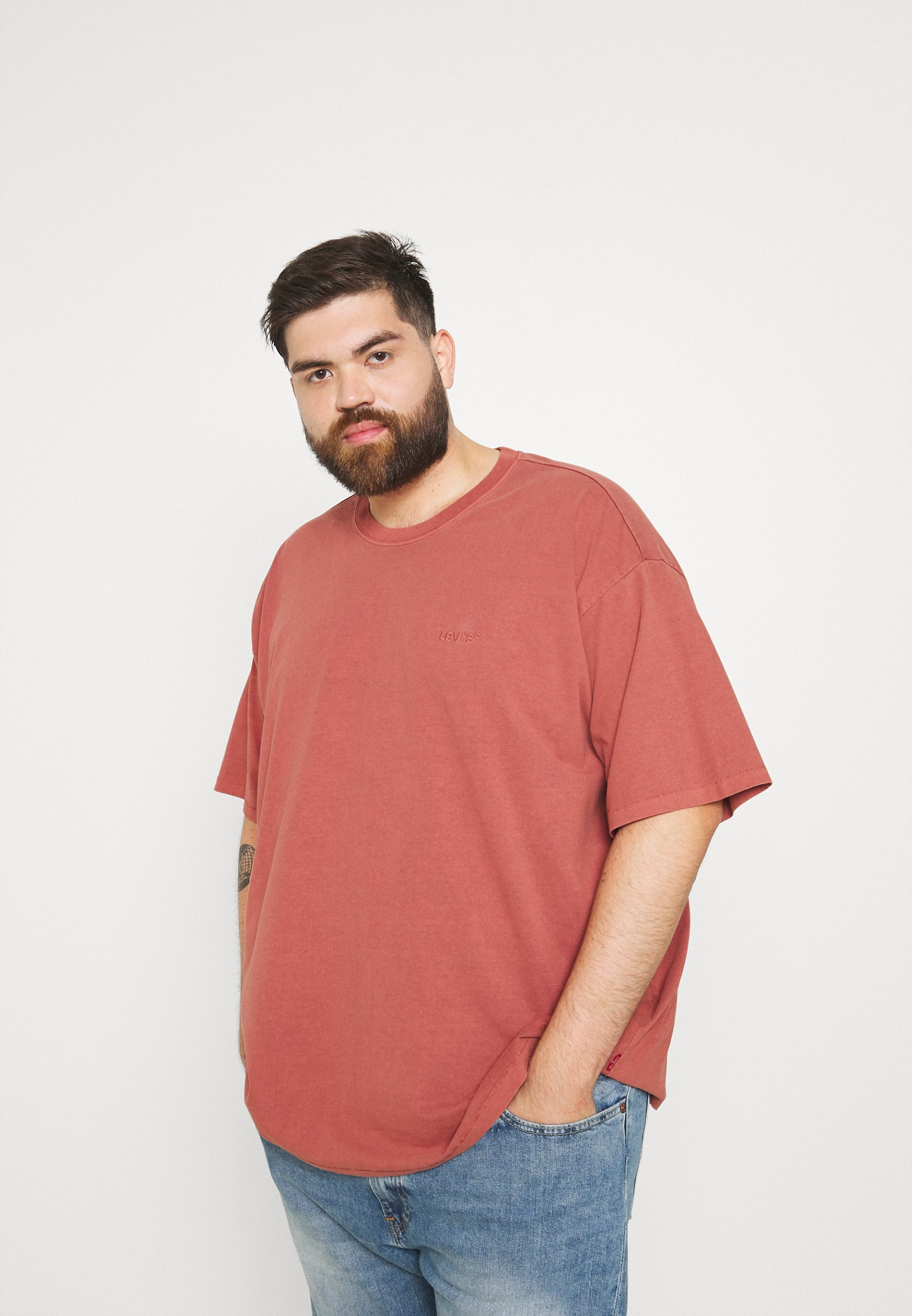 Hombre BIG TAB VINTAGE TEE - Camiseta básica