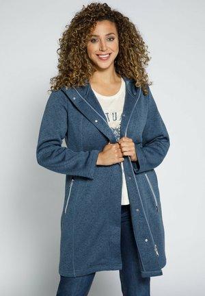 Short coat - mattes jeansblau
