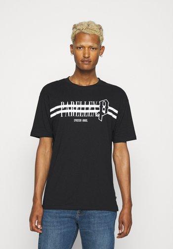 TYRON TEE - T-shirt imprimé - black