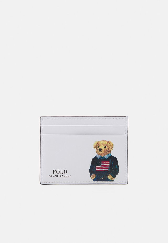 BEAR CARD CASE - Wallet - white/multi