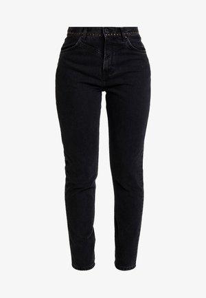 ALLEN - Relaxed fit jeans - black denim