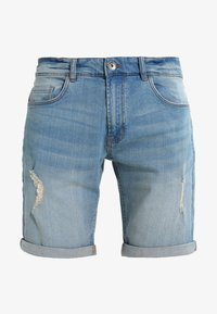Redefined Rebel - OSLO DESTROY  - Shorts vaqueros - skyway blue - 5