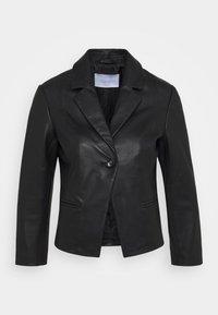2nd Day - JAMES - Leather jacket - black - 0