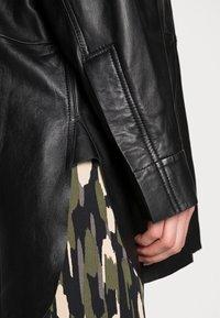 DAY Birger et Mikkelsen - DAY SKIN - Leather jacket - jet black - 3